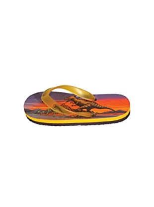Dinosoles Chanclas DF T REX (Rojo)