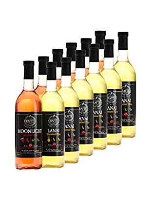 Crafted Cocktails 12-Pack Moonlight & Lanai All Natural Low Calorie Cocktail Mix