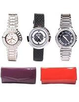 Fidato Women's Watch & Wallet Combo