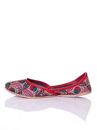 Sigris Zapato Círculo (Rojo)