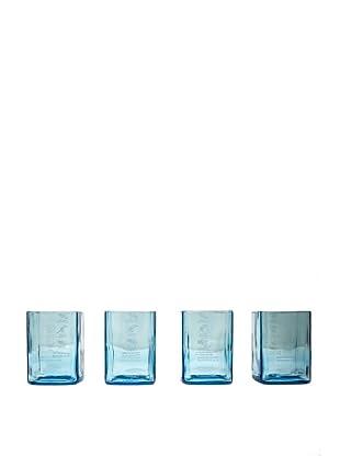 Set of 4 Bombay Sapphire Gin Rocks Glasses