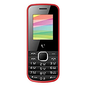 Videocon V1419 GSM Mobile Phone (Black&Red)