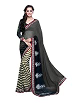 Pikasho Party Wear Cutpatch Saree 8006