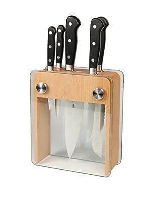 Mercer Culinary Renaissance 6-Piece Forged Knife Block Set