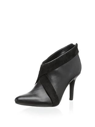 Calvin Klein Women's Juanita Bootie (Black/Black)