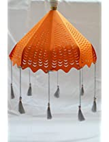 Elegant umbrella Lampshade with Laser Cut Design