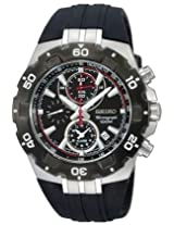 Seiko Alarm Chronograph Mens Sports Watch Snad35P2