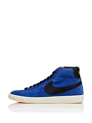 Nike Zapatillas Blazer Suede Vintage (Azul / Negro)