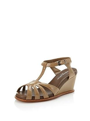 STEPHANE KELIAN Women's Cancun Wedge Sandal (Argile)