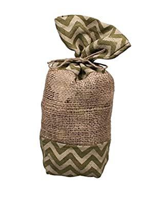 Jodhpuri 12-Oz. Gardenia Potpourri in Jute Bag, Green