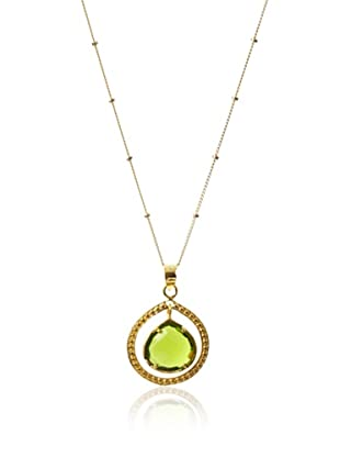 Coralia Leets Avocado Quartz Pendant Necklace