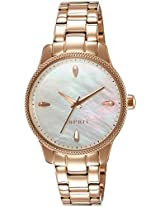 Esprit Analog White Dial Women's Watch - ES108602006