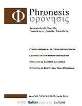Phronesis No. 21-22