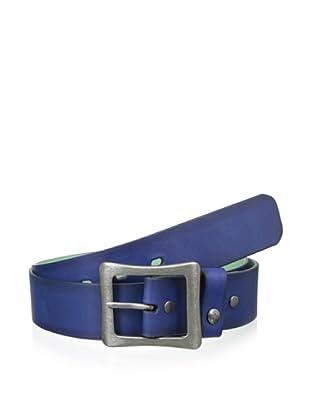Original Penguin Men's Leather Belt (Blue)