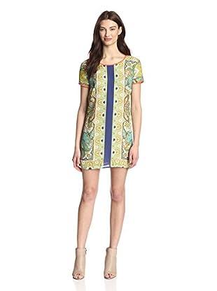 Kaya Di Koko Women's Printed Shift Dress