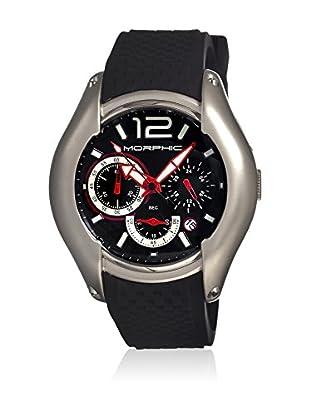 Morphic Reloj con movimiento cuarzo japonés Mph0305 Negro 46  mm