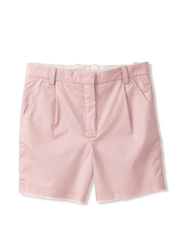 kicokids Girl's Deconstructed Hem Walking Shorts (Potpouri)