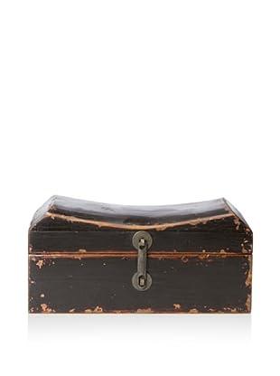 Antique Revival Pillow Box (Black)
