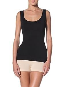 Cass Women's Contour Skinny Top (Black)