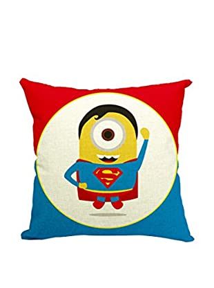 LO+DEMODA Kissenbezug Minion Superman