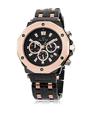 Hugo von Eyck Reloj de cuarzo Man Octans Negro 43 mm