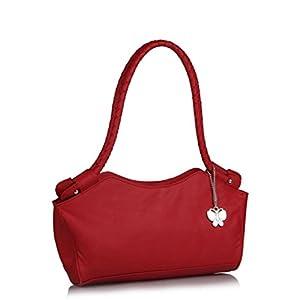 Butterflies Elegant Design Hand Bag (Red)_BNS 0304