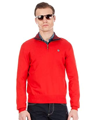 Hackett Jersey Cremallera (Rojo)