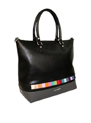 Davidelfín Bolso Gorka Bag (Negro / Gris)
