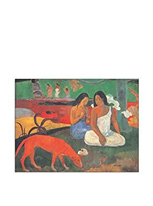 ArtopWeb Panel de Madera Gauguin Arearea 80x60 cm