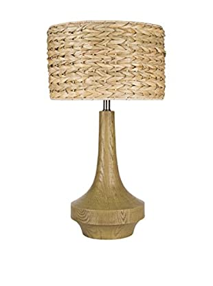 Surya Carson 1-Light Table Lamp, Antiqued Wood Tone