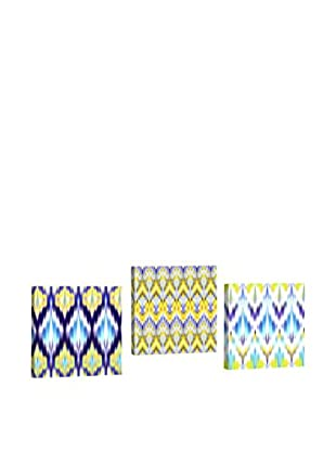 Dekorjinal Set, 3-teilig dekoratives Bild Ahm009 (mehrfarbig)