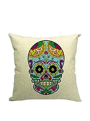 LO+DEMODA Kissenbezug Skull Mex