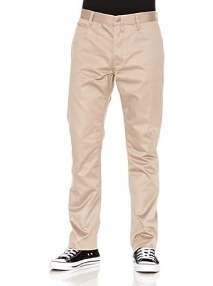 Nudie Jeans Pantalón Khaki Regular (Beige)