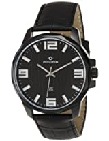 Maxima Attivo Analog Black Dial Men's Watch - 26023LMGB