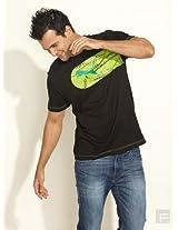 Puma Mens Black Printed T-Shirt - 82529315-XL