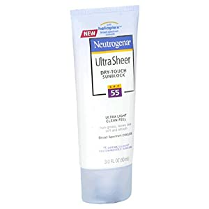 Neutrogena SPF 50 Ultra Sheer, 88ml