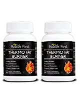 Health First Thermo Fat Burner for Weight Loss and Energy Booster, 120 Capsules