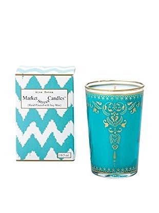 Market Street Candles 10.5-Oz. Aqua Henna Moroccan Candle