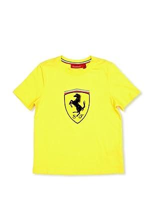 Ferrari Camiseta Shield (Amarillo)