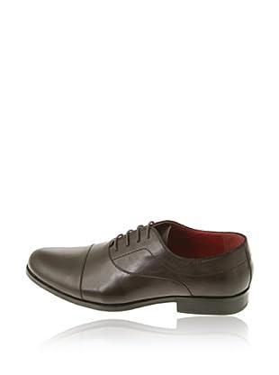 Pierre Cardin Zapatos Oxford Clásicos Cuero (Marrón)