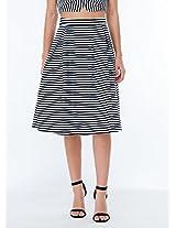 Sailor Stripes Skirt Blue