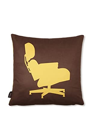 Inhabit 1956 Pillow (Chocolate/Sunflower)