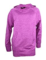 Marc New York by Andrew Marc Ladies' Hooded Oversized Pullover-purple fluorite (Large)
