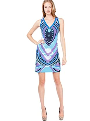 Custo Vestido Flavia (Azul)