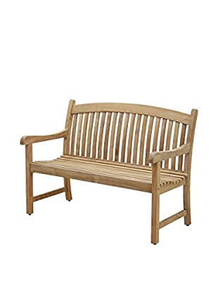 Amazonia Teak Newcastle 4' Bench, Brown