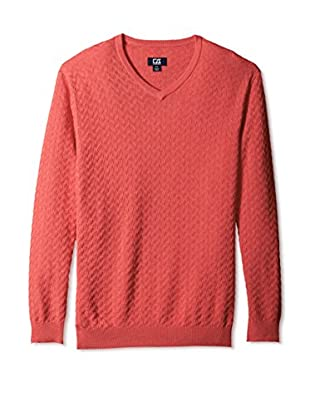Cutter & Buck Men's Mitchell V-Neck Sweater