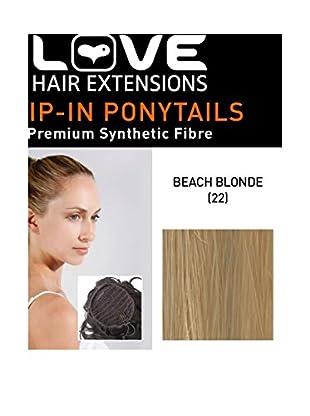 Love Hair Extensions Kunsthaar-Pferdeschwanz Victorian mit Kordel 40,5cm, 22 Beach Blonde