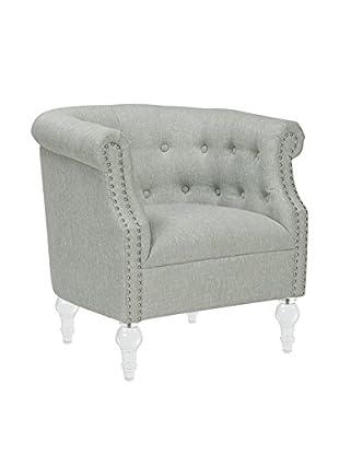 Jennifer Taylor Home Loren Armchair, Light Green