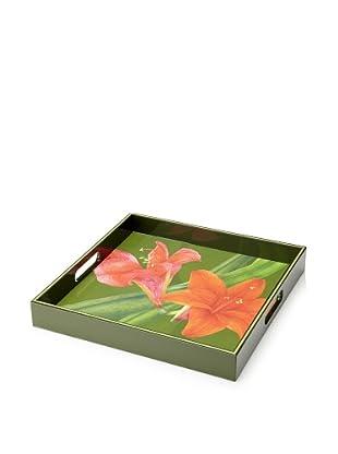 rockflowerpaper Serving Tray (Amaryllis)