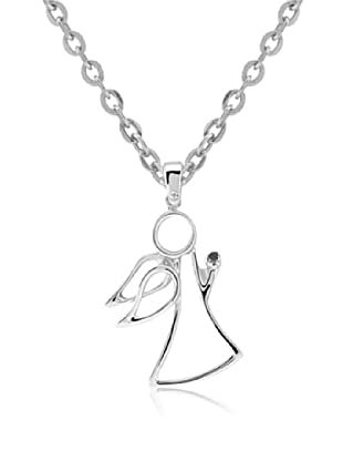 Divas Diamond Collar Black Diamante Angel